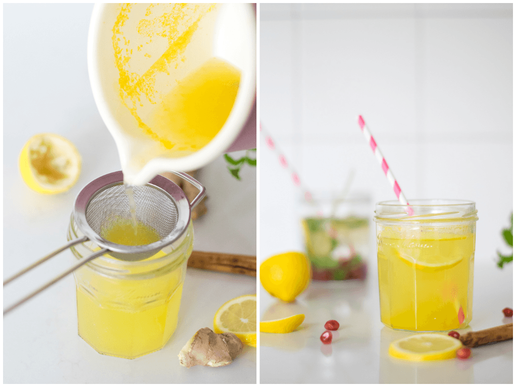 Warme winter limonade