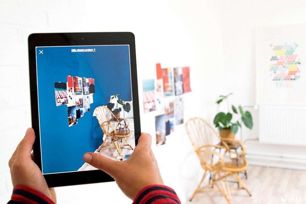 Visualiseer met de Flexa visualizer-app het eindresultaat van de werkkamer - Wimke