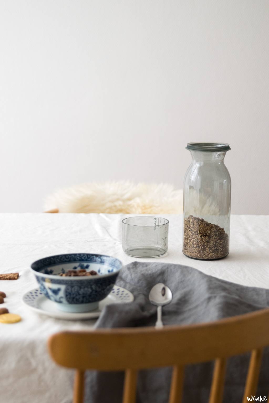 Sinterklaasgranola recept - Brabantia Love To Give - www.wimke.nl