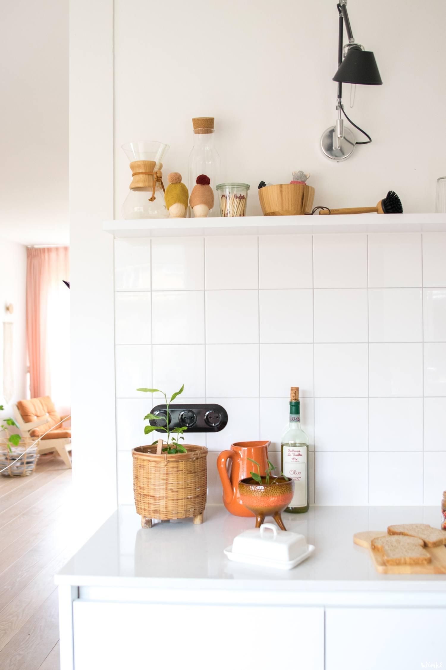 keukenpraat en Saber light letterbox van Zuiver - www.wimke.nl