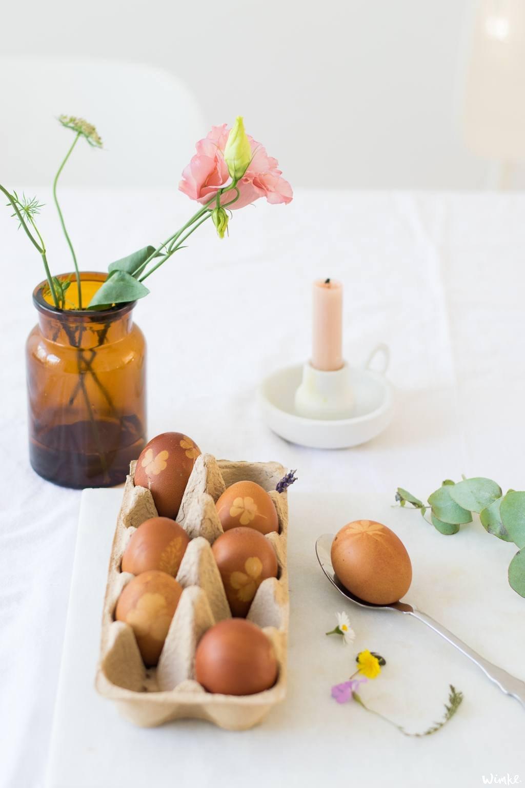diy bloemeneieren voor moederdag uit Smûk - www.wimke.nl