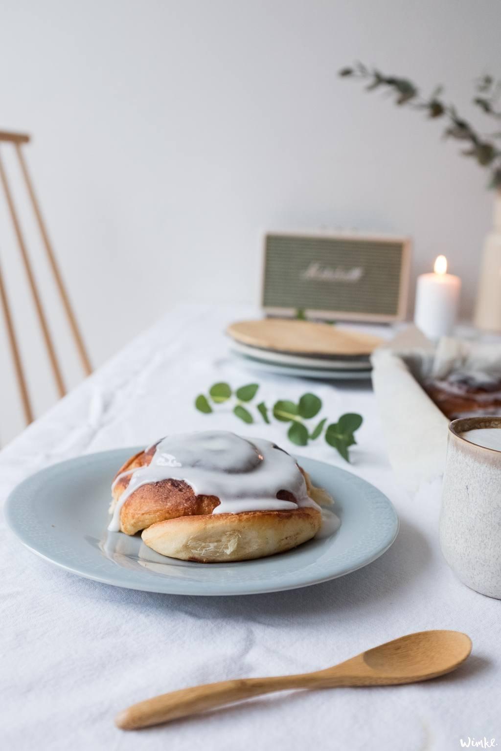 De heerlijke Deense Slakken, de Scandinavische Kaneelbroodjes - (c) Wimke.nl