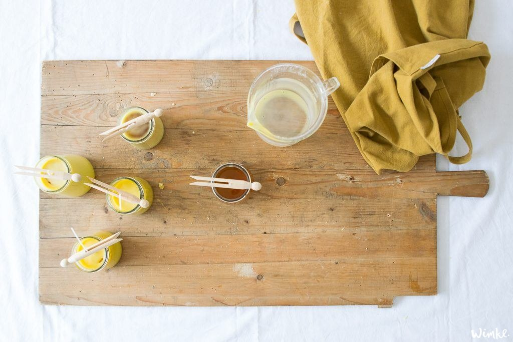 Maak zelf je duurzame bijenwaskaarsen - (c) Wimke.nl