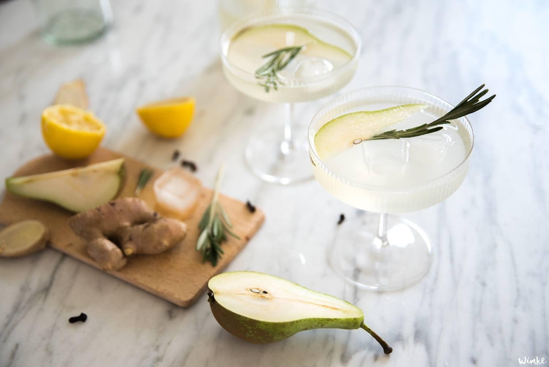 Perenlimonade van The Holy Kauw, Zachtroze Perziklimonade en de Mandarijn Crodino cocktail van Jet