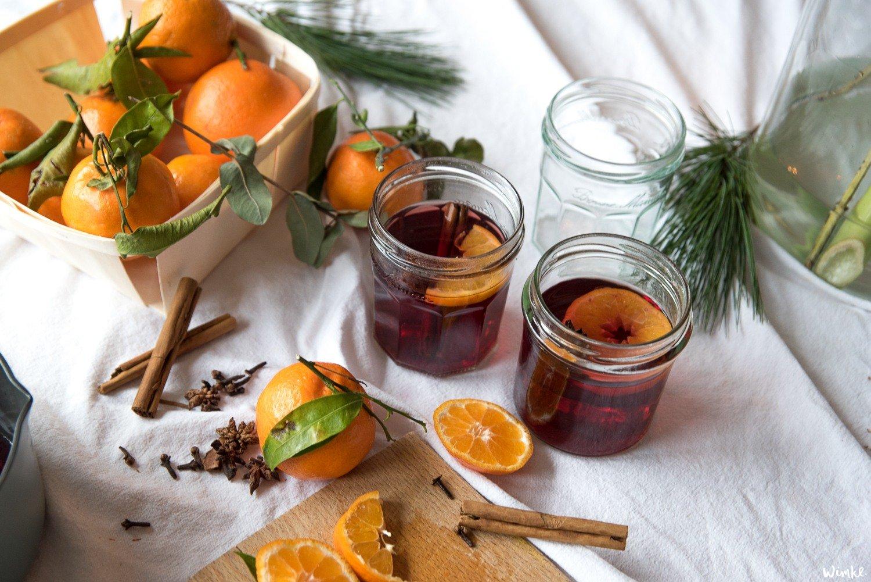 Recept alcoholvrije glühwein met mandarijn
